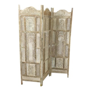 Rustic Indian Room Divider