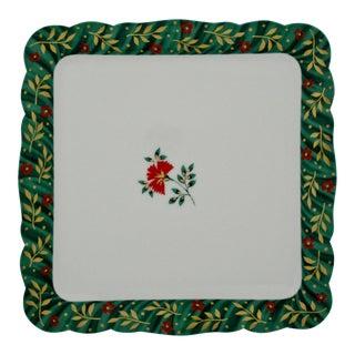 Isabelle de Borchgrave Plate