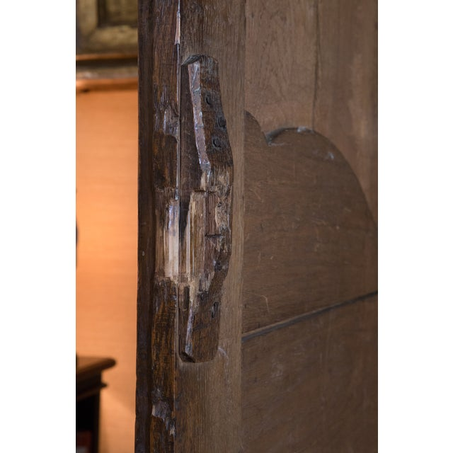 French Oak Armoire from Normandy - Image 9 of 10