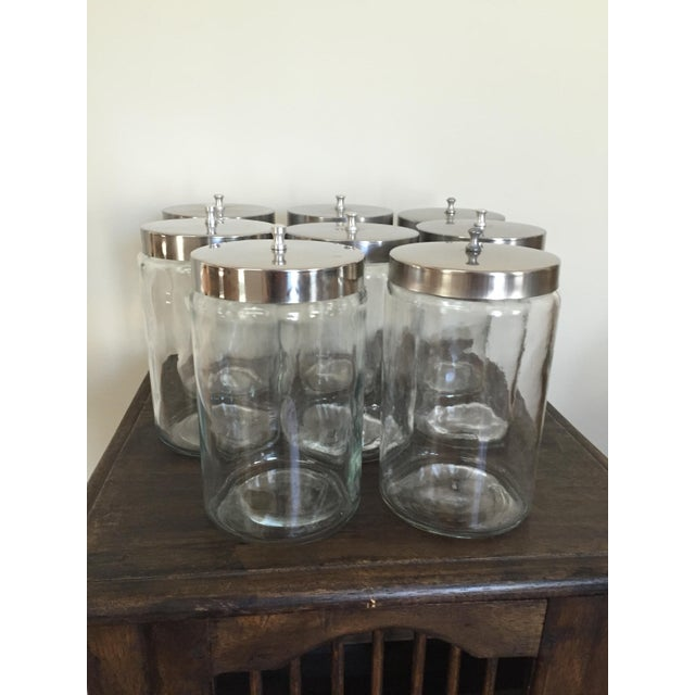 Image of Vintage Apothecary Jars - Set of 8