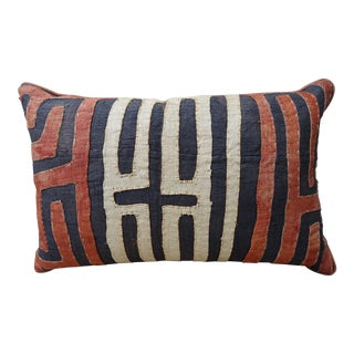 African Cloth Kuba Pillow