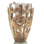Image of Transitional Gold and Silver Vase