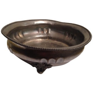 Silver Plated Coin Dish