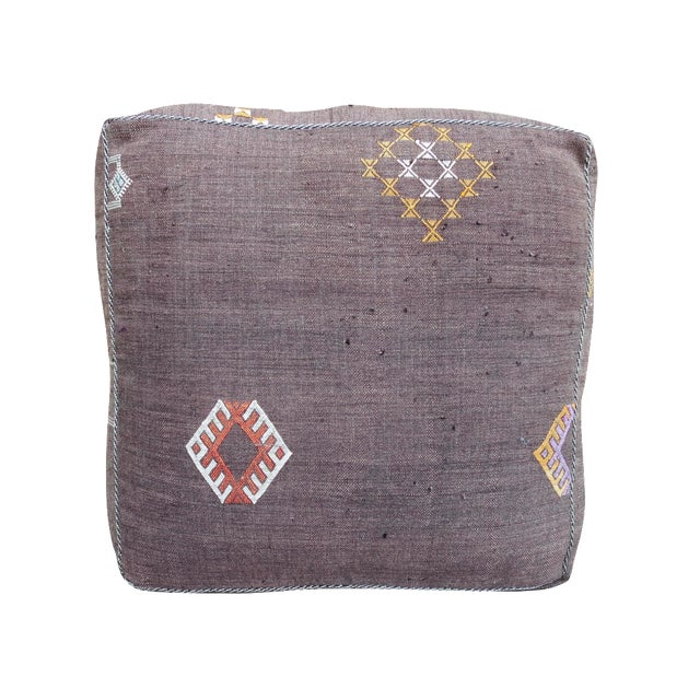 Moroccan Floor Pillows: Sabra Silk Moroccan Floor Pillow