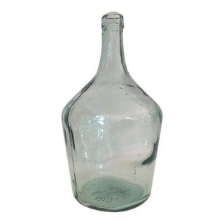 Bottle Green Glass Demijohn