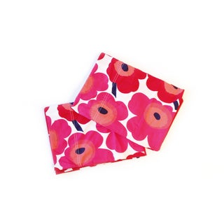 Marimekko Finland Unikko King Pillowcases Pink