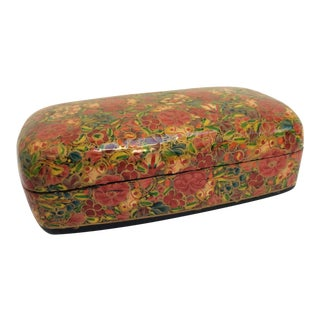 Kashmir Lacquered Floral Box