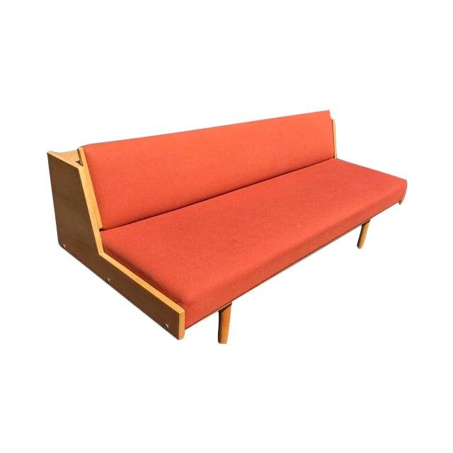 Hans wegner for getama mid century daybed sofa chairish for Mid century daybed sofa