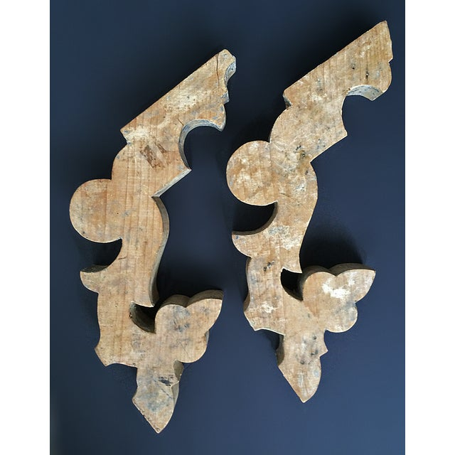 Image of Antique Architectural Elements - Pair