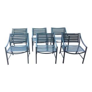 Vintage Brown Jordan Chairs - Set of 6