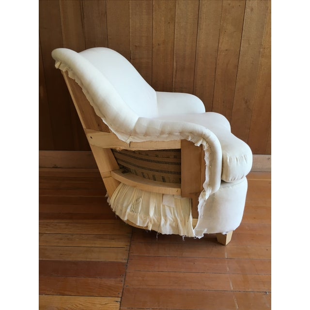 """""""Rounded"""" Chair + Custom Upholstery Service - Image 4 of 6"""