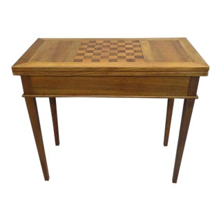 French 1940s Louis XVI Style Game Table or Writing Desk