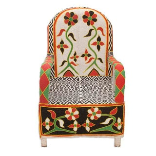 Nigerian Beaded Armchair