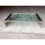 Image of Leon Rosen for Pace Chrome Waterfall Coffee Table