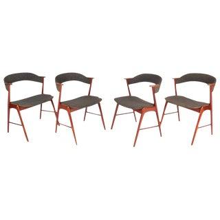 Kai Kristiansen for Korup Stolefabrik Dining Chairs - Set of 4