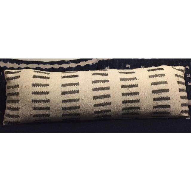 Image of Large Mudcloth Lumbar Pillow