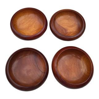 Danish Modern Teak Bowls - Set of 4