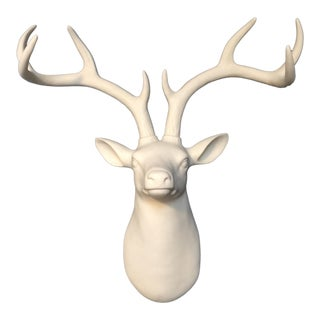 Deer Head Antler Wall Mount
