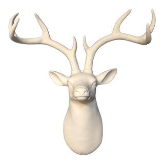 Deer Head Antler Wall Mount