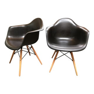 Eames Style Side Chairs - A Pair