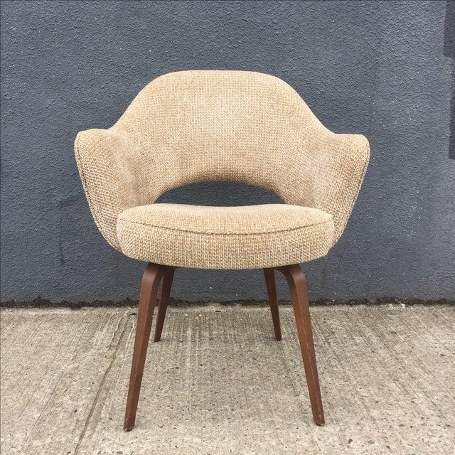Image of Eero Saarinen for Knoll Chair on Wood Legs