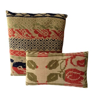 Bold Graphic Pillows - A Pair