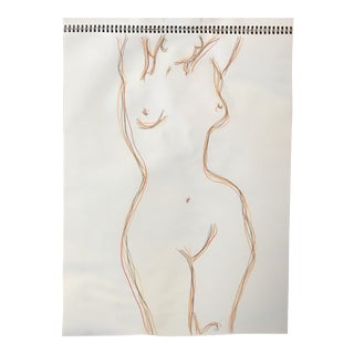 Linear Nude Drawing