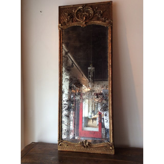 Antique French Giltwood Mirror - Image 7 of 8