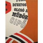 Image of Original Hungarian Swinging 60's Shoe Poster