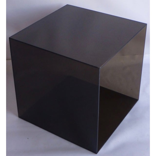 Smoked Lucite Storage Cube - Image 3 of 7