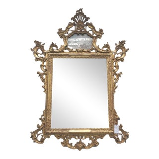 Venetian Mirror with Mercury Glass