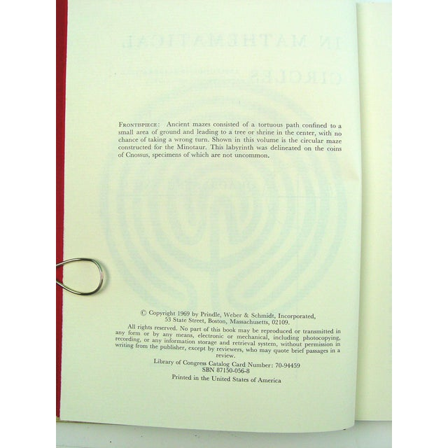 Image of In Mathematical Circles Book by Howard Eves