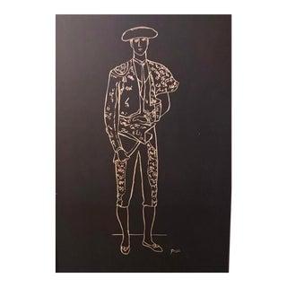 Pablo Picasso Matador Drawing Lithography