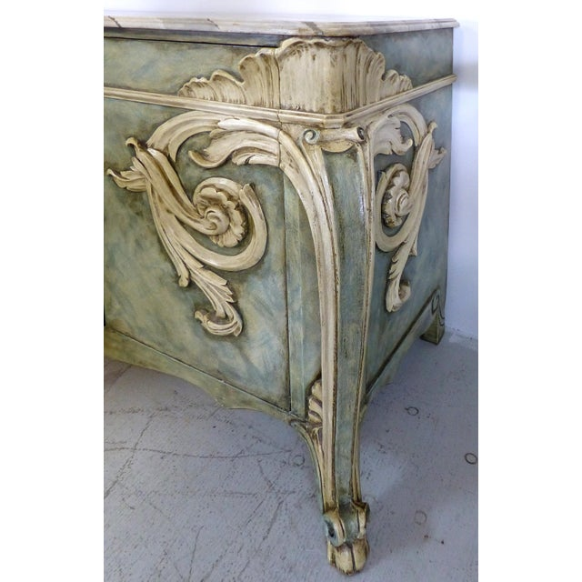 Image of Faux-Painted Buffet by Karges