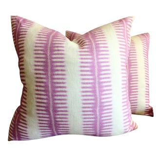 C & C Milano Zip-Zip Orchid Down Pillows - A Pair