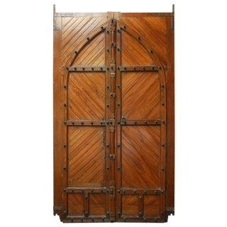 18th Century Moorish Castle Gatehouse Doors from Spain