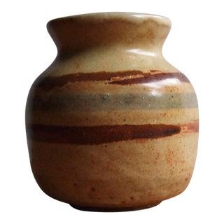 Stoneware Pottery Bud Vase