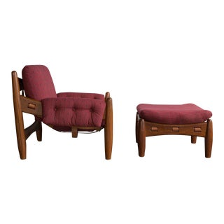 Sheriff Lounge Chair & Ottoman