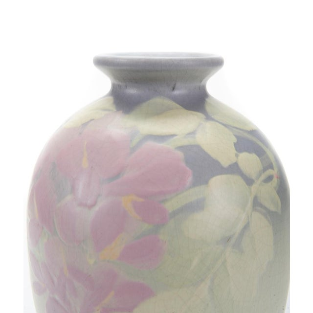 Weller Hudson Art Nouveau Pastel Vase - Image 4 of 6