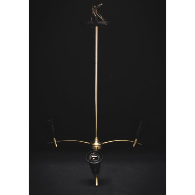 Three Light European Chandelier - Image 7 of 10