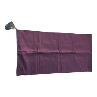 Purple & Wine Color Silk Table Runner
