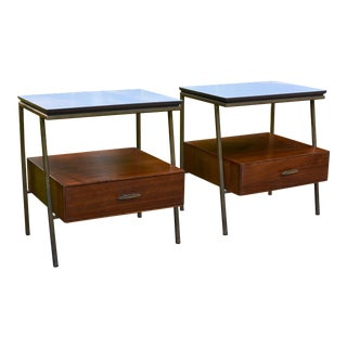 Vista of California Mid Century Modern Nightstands - a Pair