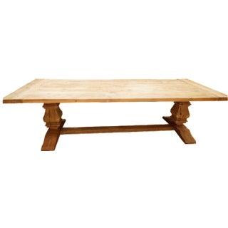 Restoration Hardware Salvaged Wood Trestle Table