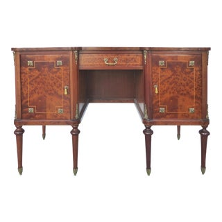 Birds Eye Maple Inlay Ladies Desk/Vanity