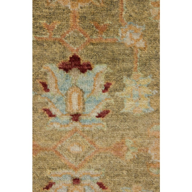 """New Traditional Hand Knotted Area Rug - 4'1"""" x 6'3"""" - Image 3 of 3"""
