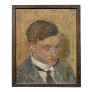 Axel Andersen Portrait Painting