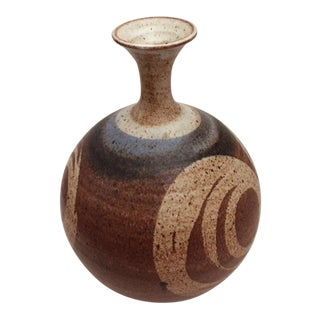 Vintage Studio Pottery Ceramic Vase