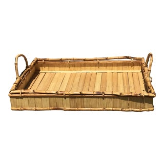 Boho Bamboo Serving Tray