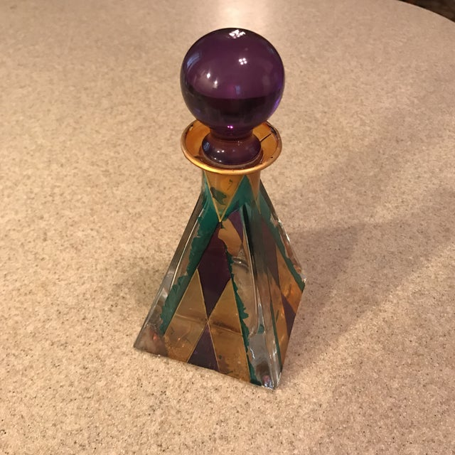Hand Painted Perfume Bottle - Image 6 of 11