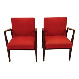Mid-Century Pair of Jens Risom Design